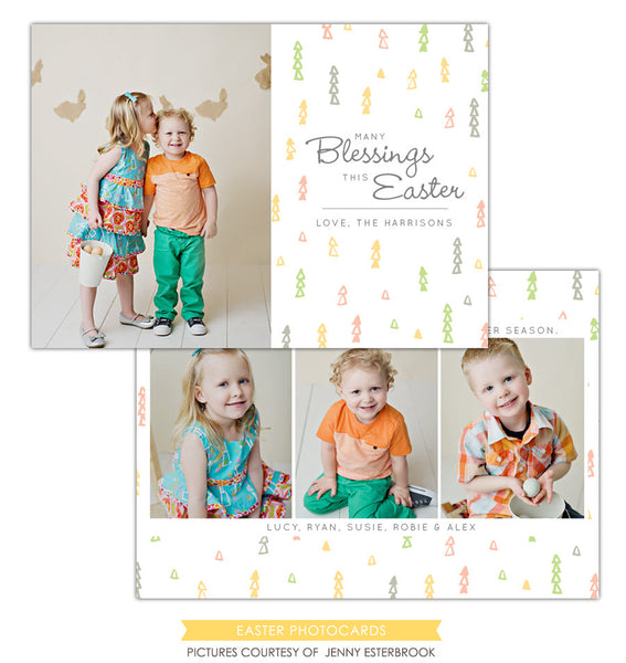Easter photo card | Easter Confetti