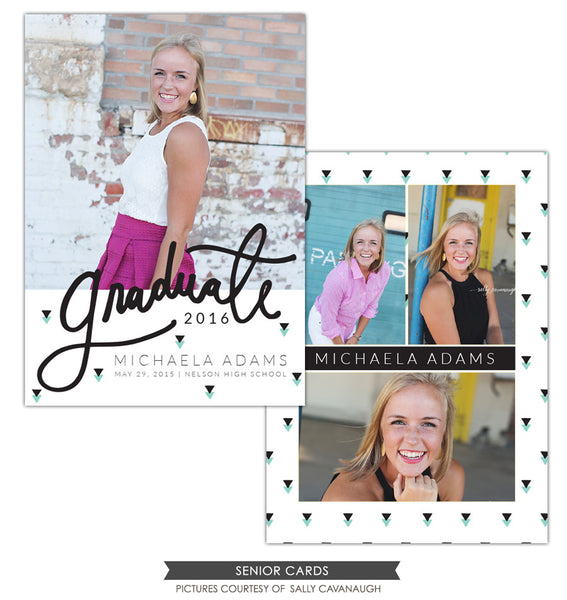 Grad announcement | Black arrows