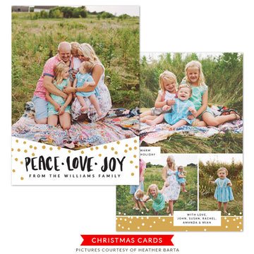 Christmas Photocard Template | December Delights