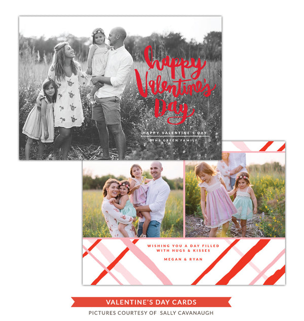 Valentine Photocard Template | Our Valentine