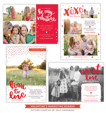 Photography Marketing boards | Sweet minis