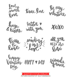 Valentine's Photo Overlays | Time to love