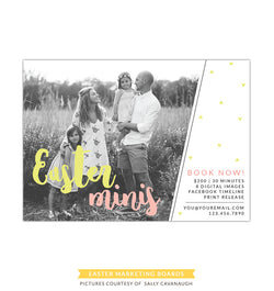 Photography Marketing board | Family Easter minis