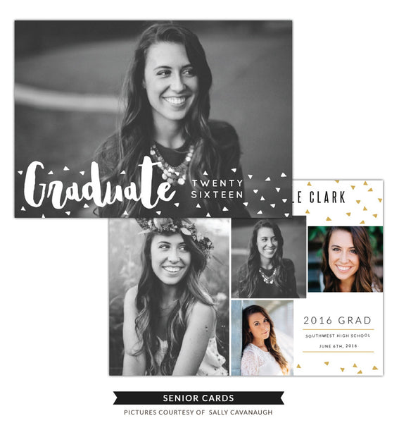 Grad announcement | Blooming Seeds