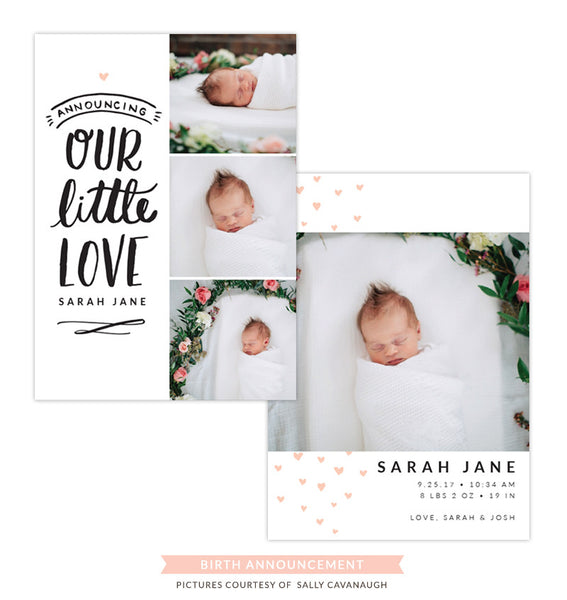 Birth Announcement | Our little love