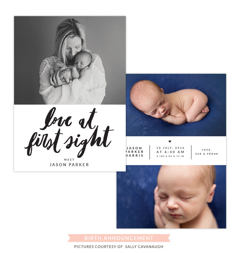 Birth Announcement | First sight