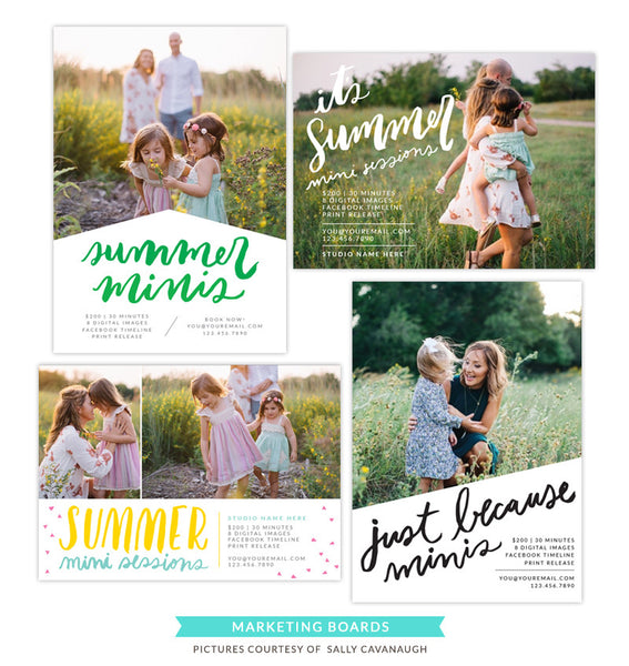 Photography Marketing boards | Sun and fun