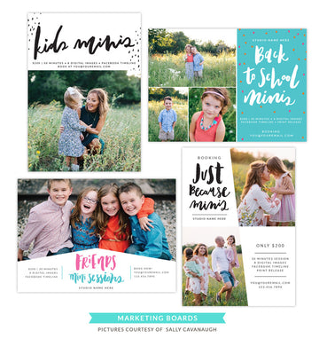 Photography Marketing boards | School pics