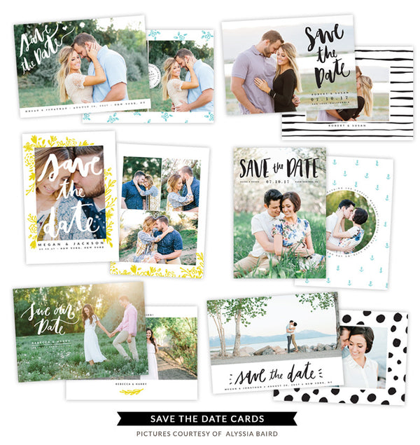 Save the Date bundle | Sparkle Wedding