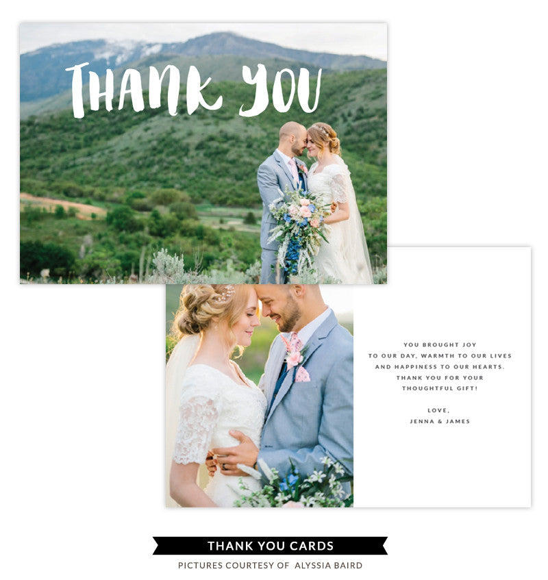 Thank You Card Template | New Beginning