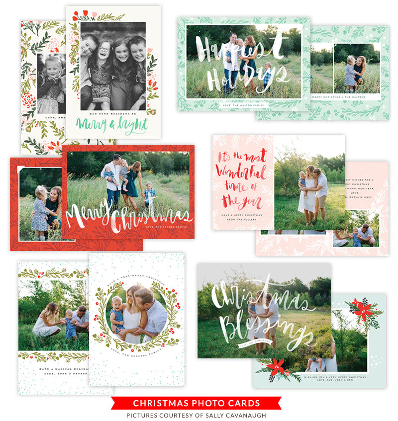 Christmas Photocards Bundle | Christmas Story