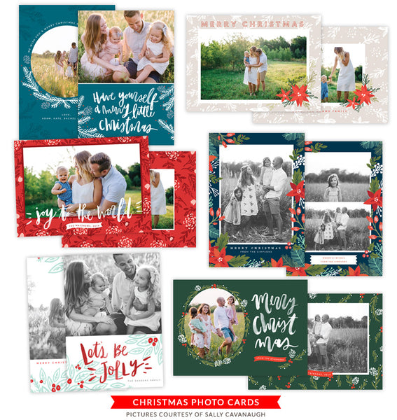 Christmas Photocards Bundle | Lights of Christmas