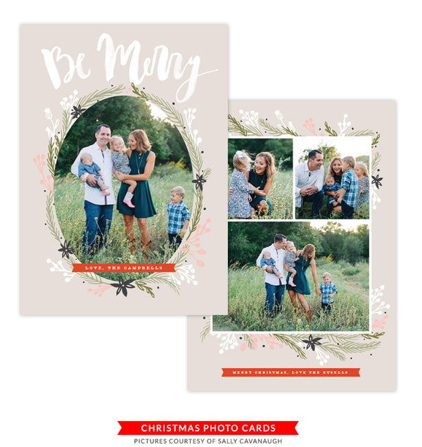 Christmas Photocard Template | Bright Star
