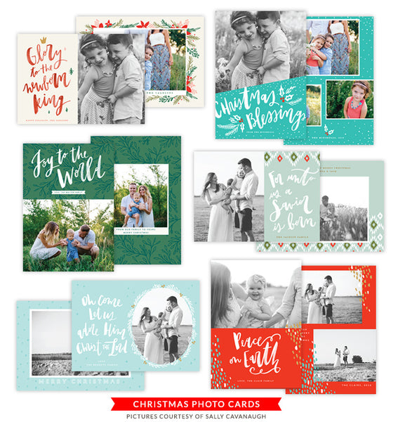 Christmas Photocards Bundle | O Night Divine