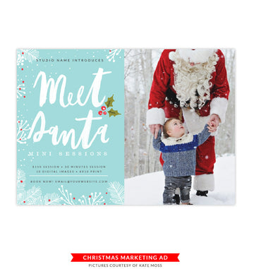 Christmas Marketing Board | Holiday Sessions