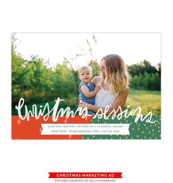 Christmas Marketing Board | Golden Sessions