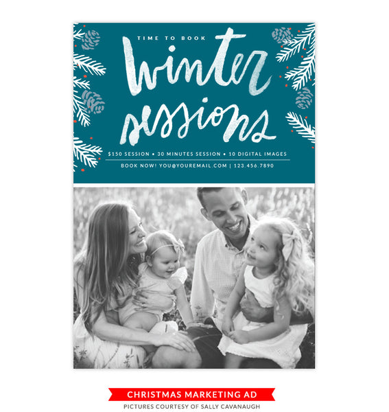 Christmas Marketing Board | Winter Sessions