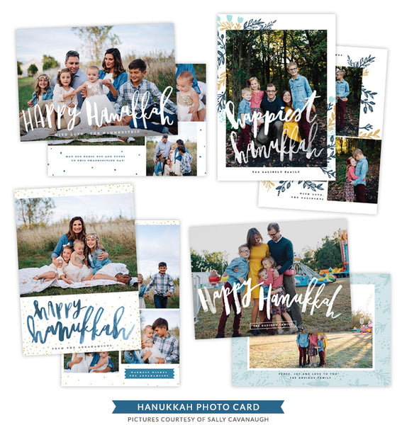 Hanukkah Photocards Bundle | Single Flame