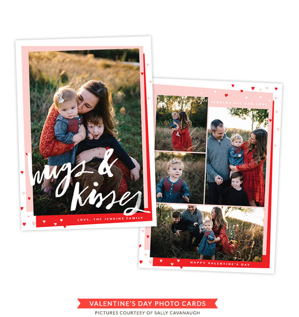 Valentine Photocard Template | Red Love