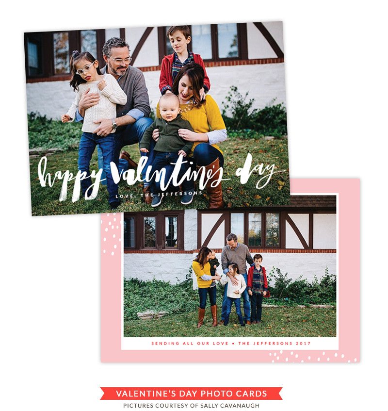 Valentine Photocard Template | This is Love