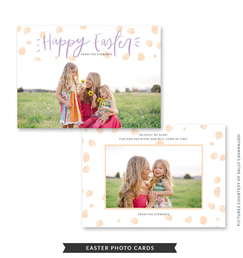 5x7 Easter Photo Card | Easter Joy
