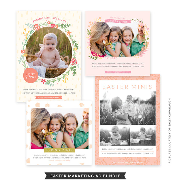 Easter Marketing Ad Bundle | Easter Colors