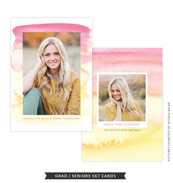 Grad announcement | Bright Horizon