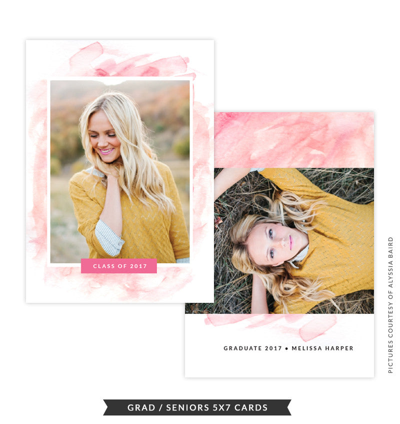 Grad announcement | Brush of Joy