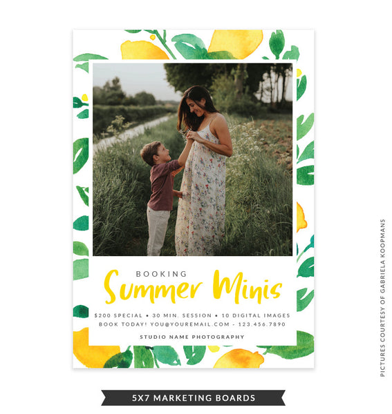 5x7 Summer Marketing Board | Lemon Laugh