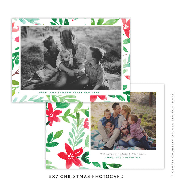 Christmas 5x7 Photo Card | Light of Hope