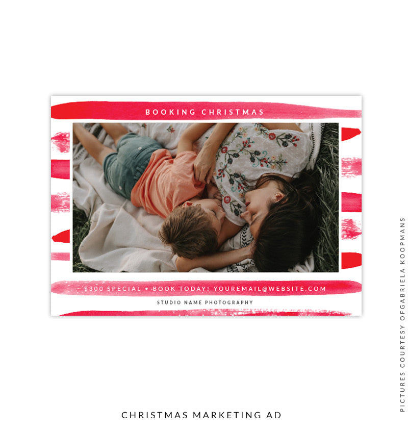 Christmas Marketing Ad | Holiday Brush