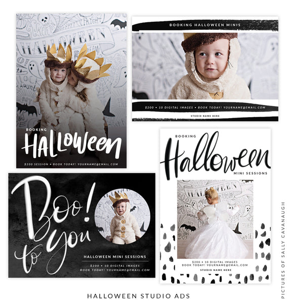 Photography Marketing Board Bundle | Halloween Party