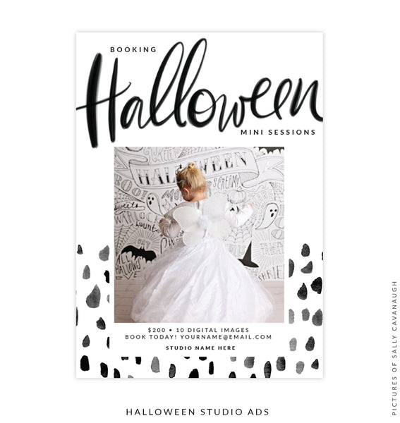 Photography Marketing Board | Booking Halloween