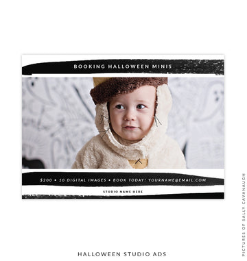 Photography Marketing Board | Halloween Brush