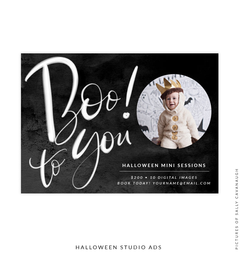 Photography Marketing Board | Boo to You