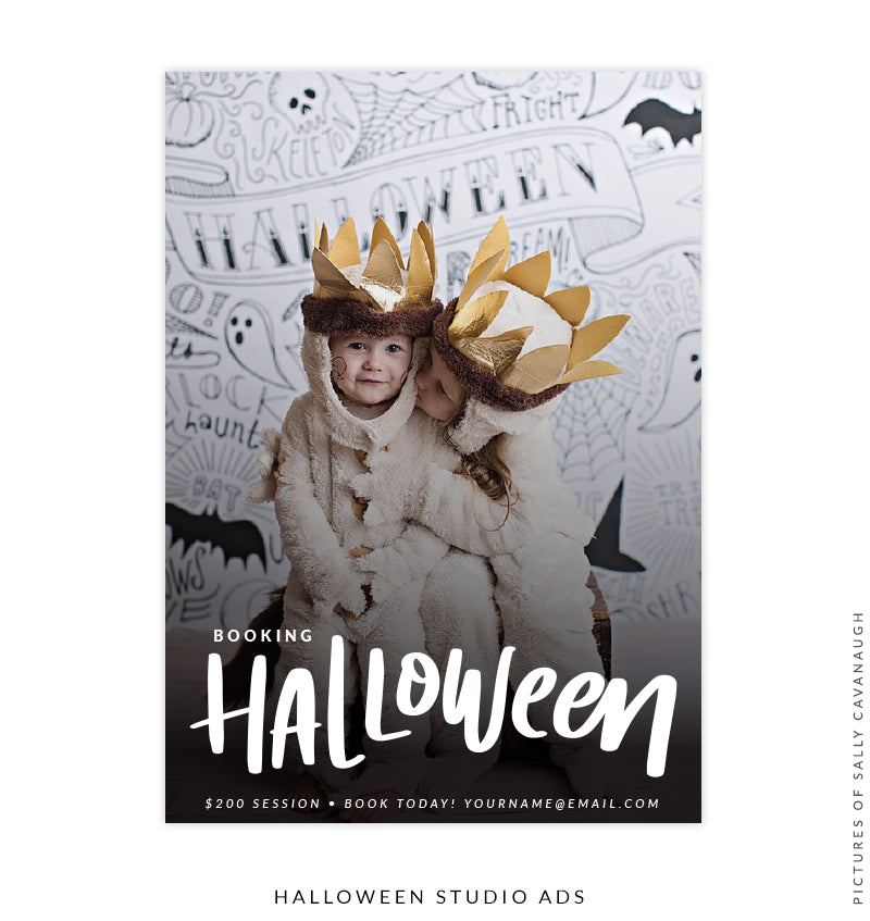 Photography Marketing Board | Spooktacular Minis