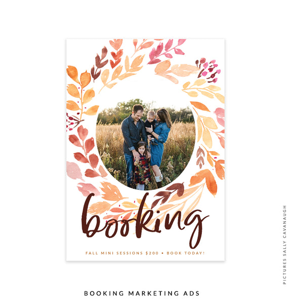 Booking Marketing Ad | Splendid Grace