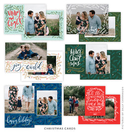 Christmas 5x7 Photo Card Bundle | Wonderful Memories