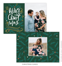 Christmas 5x7 Photo Card | Christmas Breeze