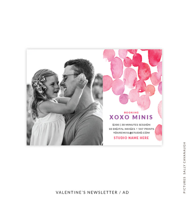 Valentine's Photography Marketing Board | My Sweet Love