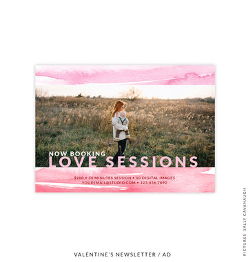 Valentine's Photography Marketing Board | Unconditional Love