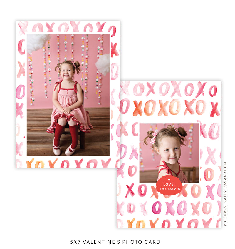 5x7 Valentine's Photo Card | New Love