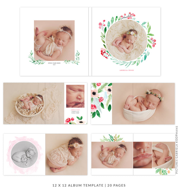 Little Joy |  12x12 Album template