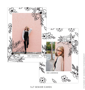 Senior Card | Floral Adventure