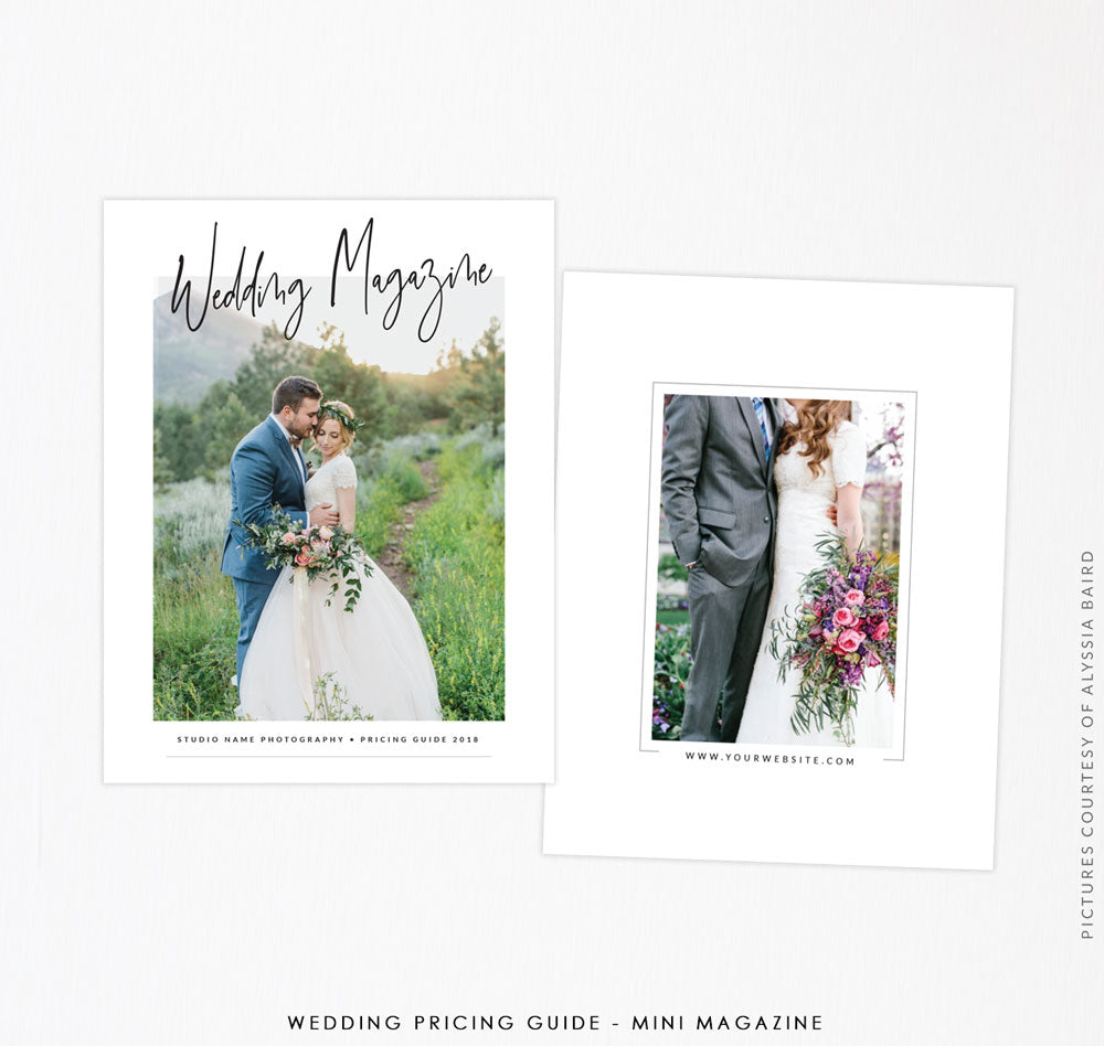 Wedding Pricing Guide - Mini Magazine | A Wedding Feeling