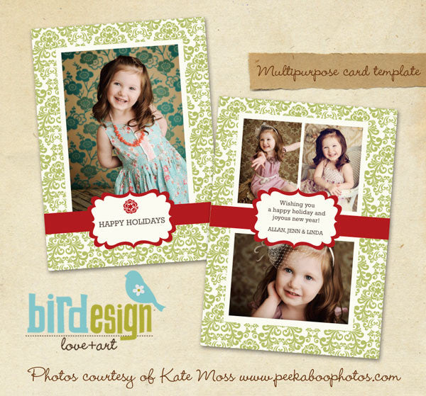 Holiday Photocard | Fresh greetings