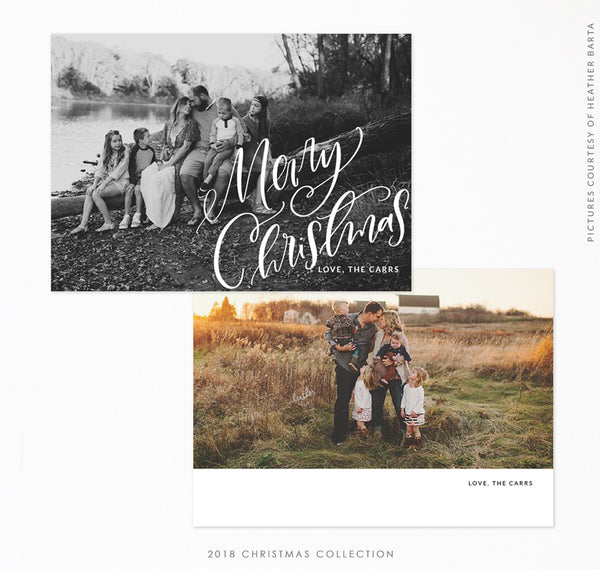 2018 Christmas 5x7 Photo Card | Christmas Valley
