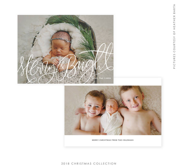 2018 Christmas 5x7 Photo Card | Christmas Surprise