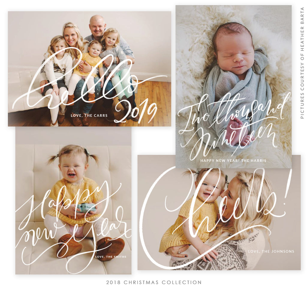 2018 Christmas 5x7 Photo Card Bundle | Brightest Season