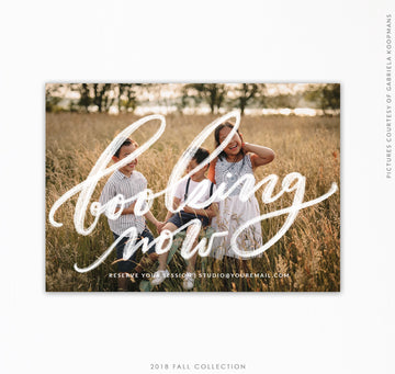 Booking Marketing Ad | Book autumn